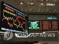 KOSDAQ和KOSPI狂跌 交易均被临时停止
