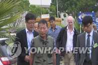 遭劫新加坡货轮4名韩国船员5日抵达仁川