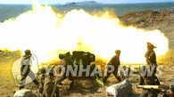朝鲜炮弹落入韩国海域 韩军开炮回击