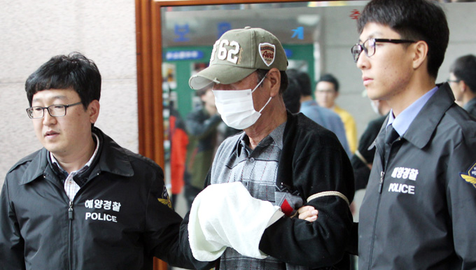 韩沉船救援队打捞1具遗体 仍有14人下落不明