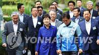 朴槿惠慰问备战奥运韩国代表团