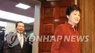 """朴槿惠会晤国会议长谈""""亲信干政""""事件"""
