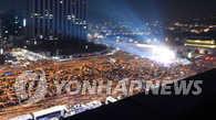 韩民众举行第六轮反总统集会 参加人数创新高