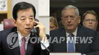 韩美防长商定保持戒备及时应对朝鲜挑衅