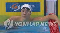 朴泰桓参加罗马国际游泳赛夺双冠王
