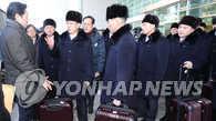 朝鲜艺术团乘船驶入韩国海域下午入港