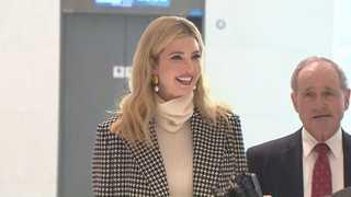 伊万卡抵韩启动为期四天的访韩行程