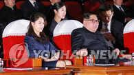 金正恩夫妇观看中国艺术团演出《红色娘子军》
