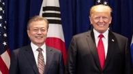 特朗普感谢文在寅盛赞对话解决朝核