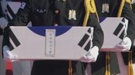 64具韩战在朝阵亡韩军遗骸回国
