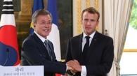 韩法首脑发表共同宣言 商定就无核化保持紧密合作