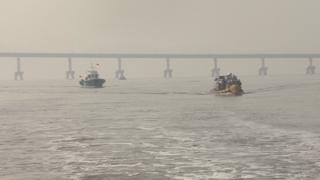韩朝完成跨境河道调查找到可用航道