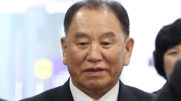 朝鲜高官金英哲抵京下午赴美