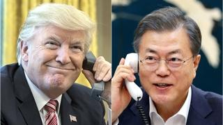韩青瓦台:特朗普对文在寅涉韩朝经合言论态度积极