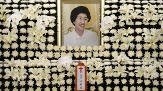 金大中遗孀李姬镐留遗言祈愿和平统一