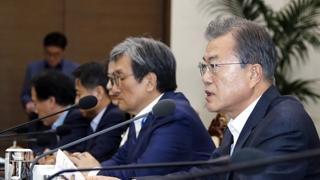文在寅敦促日本撤销出口限制措施