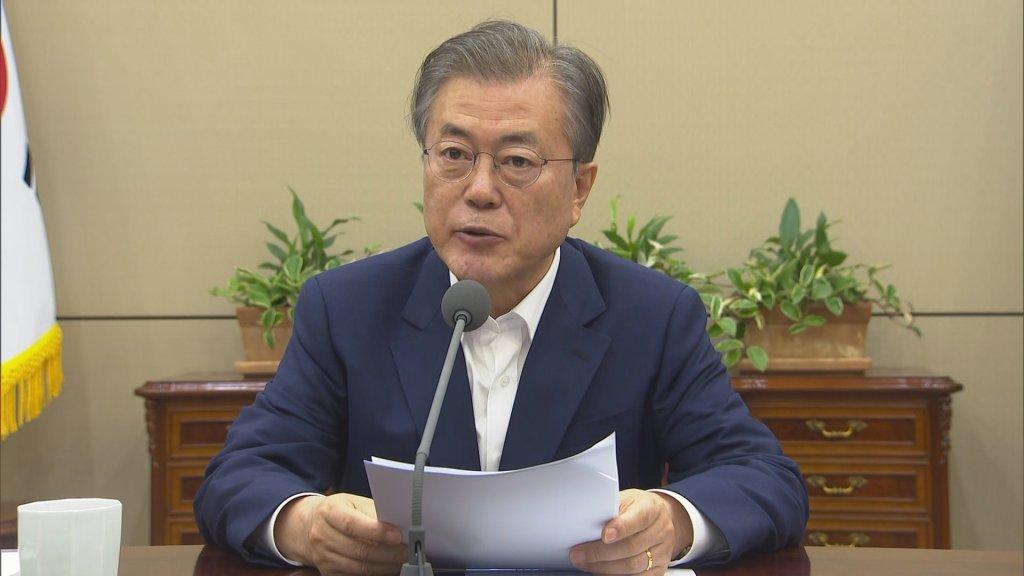 文在寅警告日本限贸阻韩发展作茧自缚