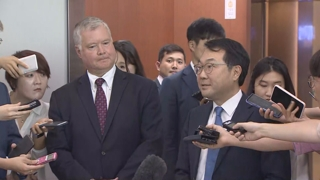 韩美对朝代表在首尔会面
