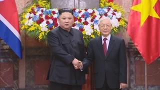 金正恩就越南独立74周年向越南主席阮富仲致贺电