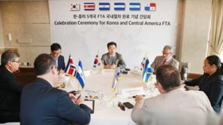 韩国与中美洲两国自贸协定明起生效