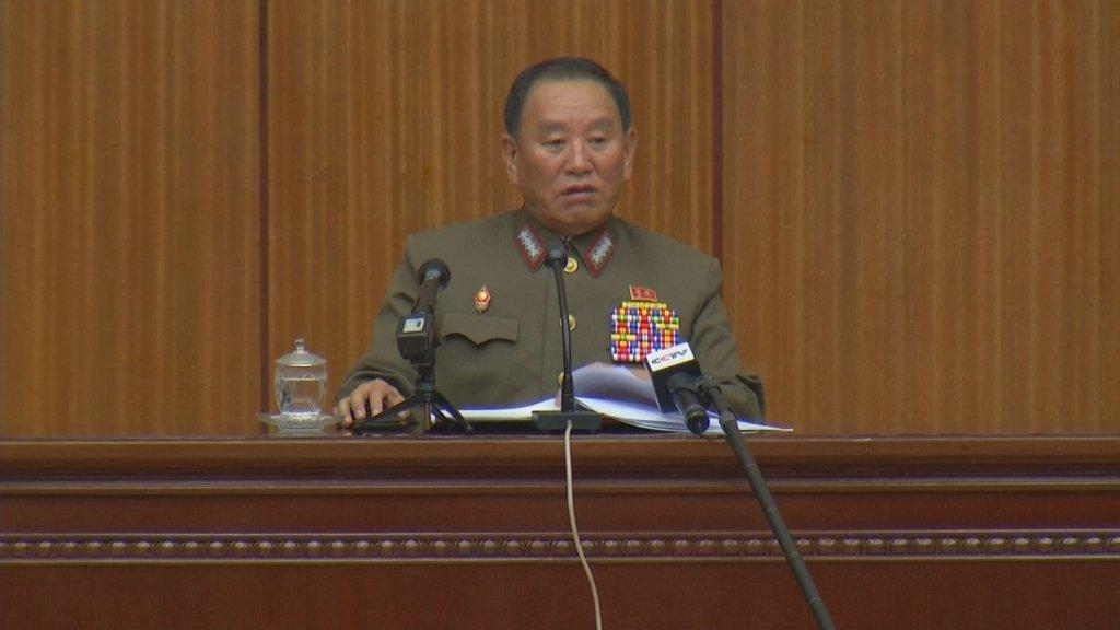 朝高官:美撤回敌对政策前不要妄想开展对话