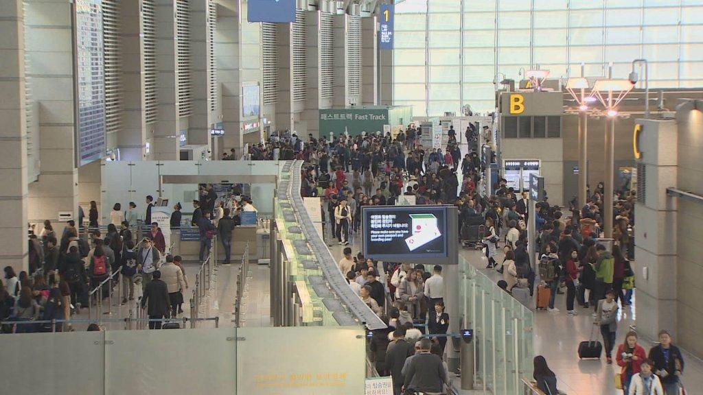仁川机场2019年旅客吞吐量首破7000万