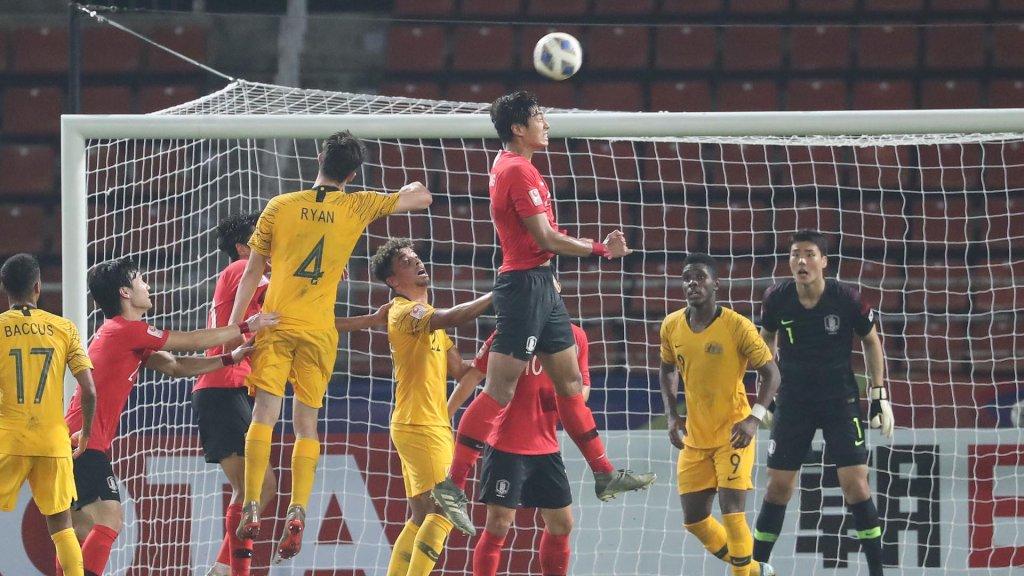 U23亚锦赛韩国2比0战胜澳大利亚挺进奥运