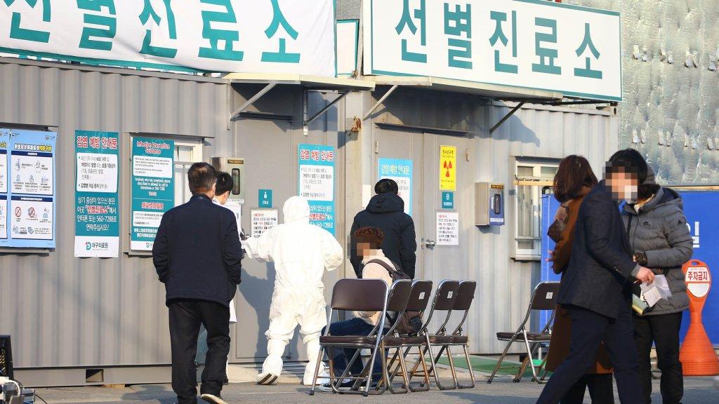 韩国新增31例感染新冠病毒确诊病例 累计82例