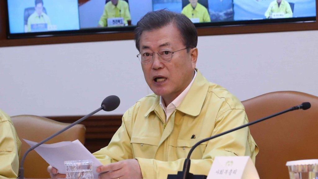 """韩国发布新冠疫情最高级别""""严重""""预警"""