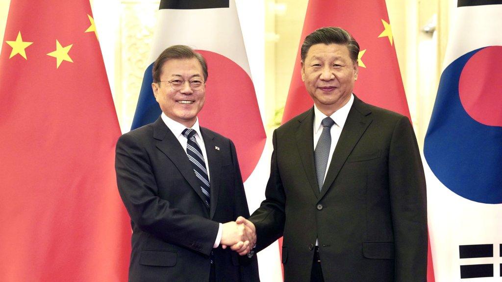 韩中领导人争取习近平年内访韩