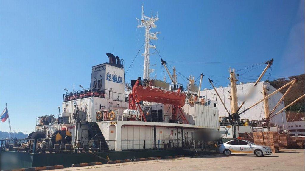 16名俄船员在韩确诊 釜山港隔离上百人