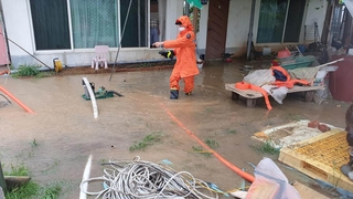 """台风""""海神""""过境韩国致2人失踪5人受伤"""