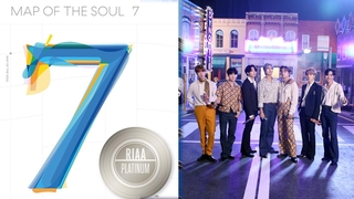 防弹少年团专辑再获美国唱片业协会白金认证