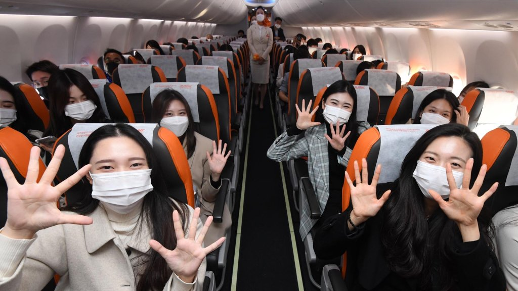 韩国将开放国际低空飞行观光游