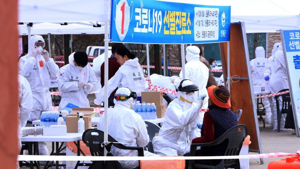 韩首都圈防疫响应今起升至2级