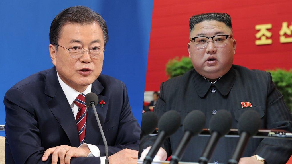 文在寅:期待金正恩回访韩国