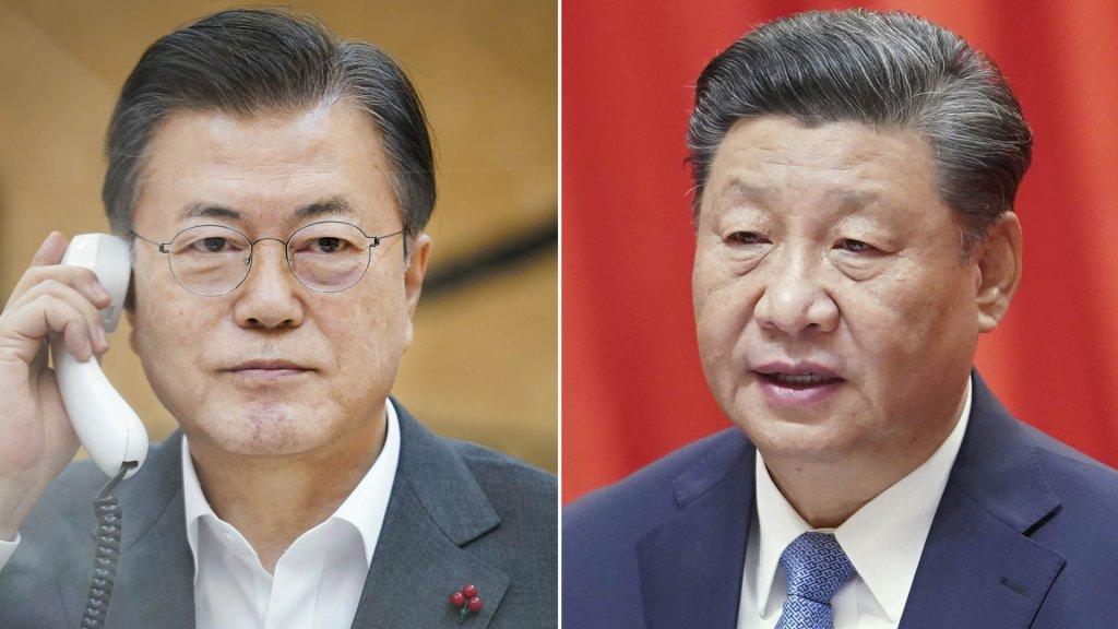 习近平表示支持韩方努力实现无核化