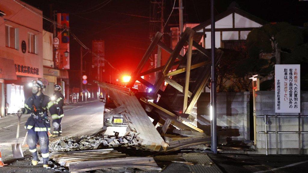 韩外交部:暂无韩国公民在福岛地震中伤亡报告