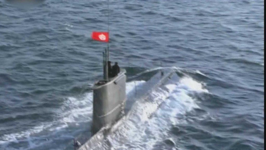 韩美情报部门研判朝鲜新型潜艇建造完毕