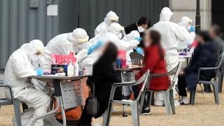韩国新增672例新冠确诊病例 累计114115例