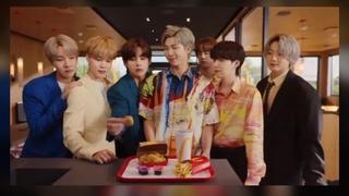 """麦当劳""""BTS套餐""""在全球12国限量销售"""