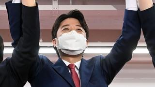 李俊锡当选韩最大在野党党首 史上最年轻