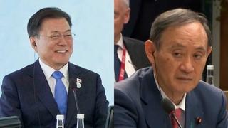 文在寅在G7峰会分别同美日领导人简短会面