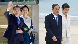 文在寅对未能同日本首相菅义伟举行会谈表遗憾