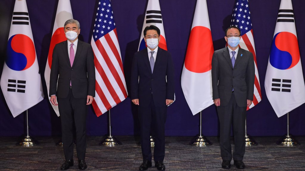 韩美日对朝代表在首尔会晤