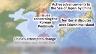 韩政府抗议日本自卫队宣传片将独岛标为领土争议区