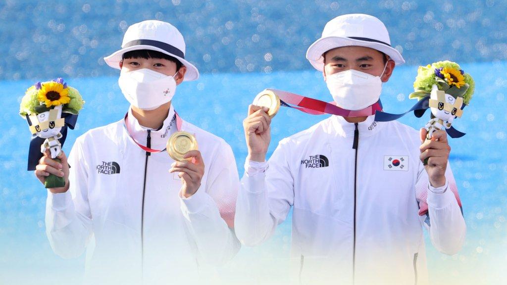 韩射箭金济德/安山夺东京奥运混团金牌