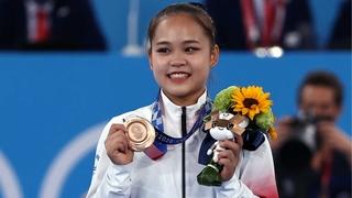 韩选手吕书晶斩获东京奥运女子跳马铜牌