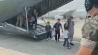 韩军机载阿富汗人从巴基斯坦起飞下午将抵韩
