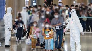 第二批13名阿富汗人安全抵韩